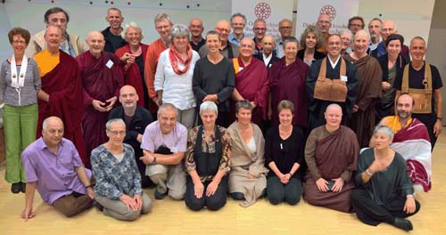 Buddhist Teachers in Europe, Vienna 2016